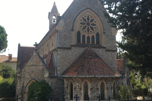 Eglise anglicane Saint Paul's church d'Hyères