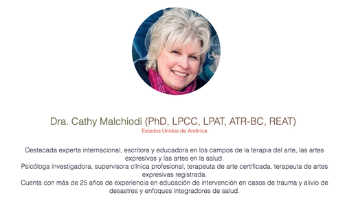 Cathy Malchiodi PhD International Expert on Expressive Arts Therapy, Art Therapy and Trauma