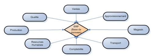 Votre système information avec ERP