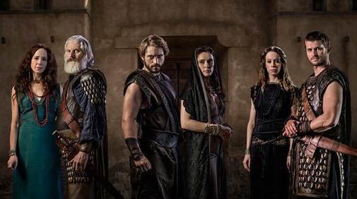 Troja Fall einer Stadt Cast Trojaner FANwerk serien review