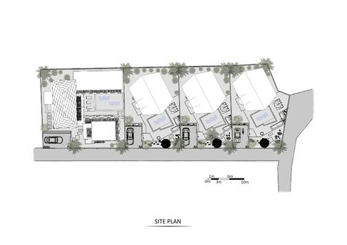 Pererenan site plan