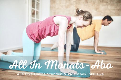 Dein Studio zu Hause mit Live Stunden & Videos