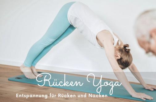Rücken Yoga Online Kurs für eine gesunde Wirbelsäule und einen entspannten Nacken in Hernals, 1170 Wien