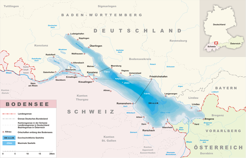 Der internationale Bodensee | Quelle: Wikipedia