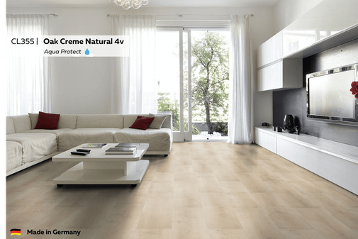 CL355 Oak Creme Naturel 4v impressie foto