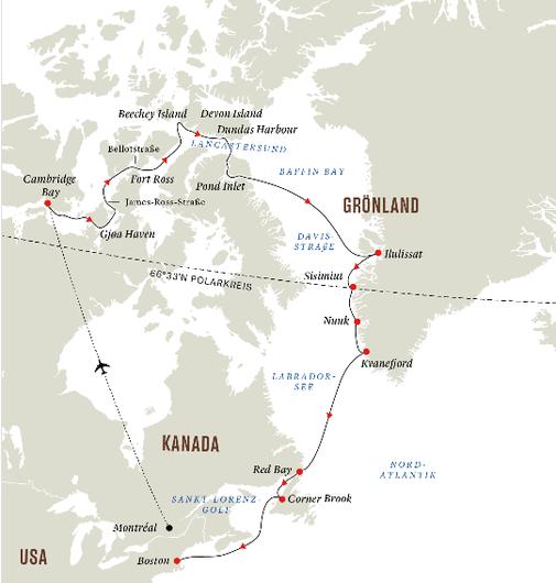 Hurtigruten Nordwestpassage 2022