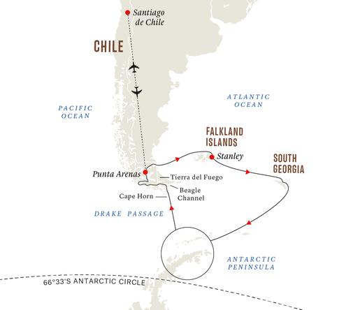 Hurtigruten Antarktis
