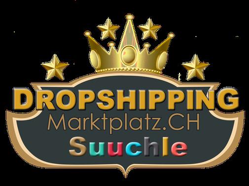 Dropshipping Marktplatz, Suuchle, Dropshipping Marktplatz.ch, Logo