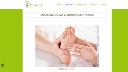 Erstellte Website für Ferienhäuser von Logos.de