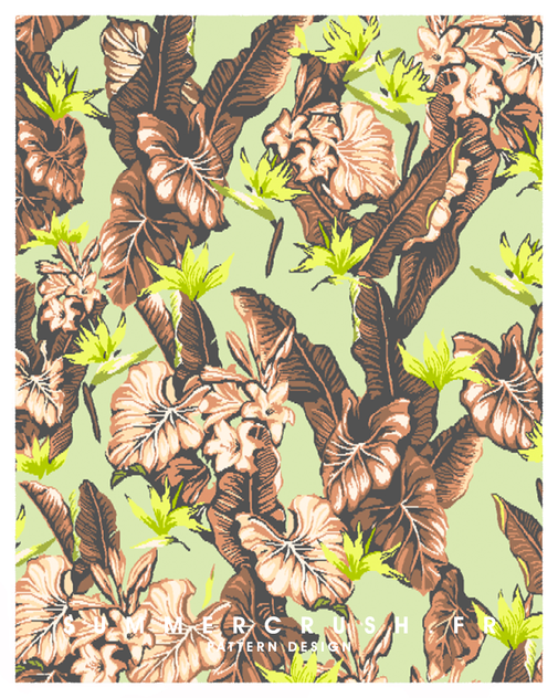 Tropical jacquard • Summer 2014