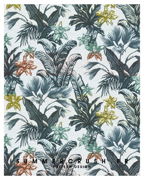 Tropical jacquard • Summer 2016