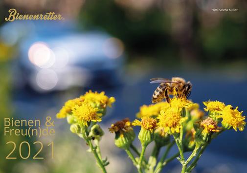 Titelblatt des Bienenretter Charity-Kalenders 2021