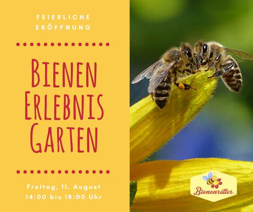 Eröffnung Bienenerlebnisgarten Frankfurt Bienenretter