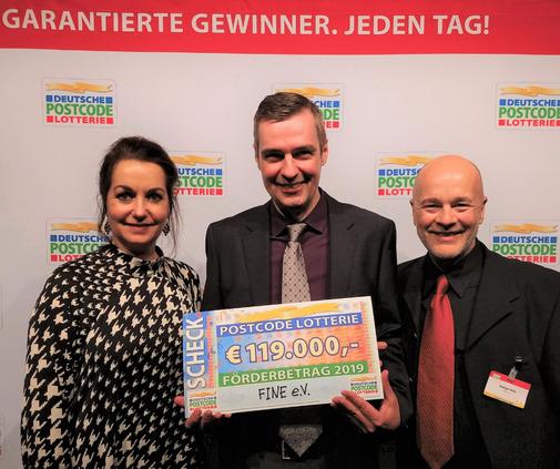 Schübergabe Postcode Lotterie Düsseldorf 2020