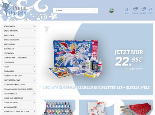 Prima-Basteln günstiger Onlineshop für Window Color, Bastelartikel