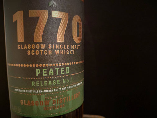 Glasgow 1770 Whisky Peated