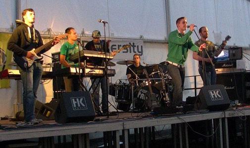 Erster offizieller Auftritt auf dem Sommernachtsfest 2012 in Herxheim