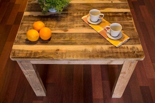 Mesa de madera de pallet