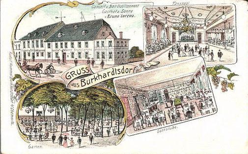 Gasthof zur Sonne 1907