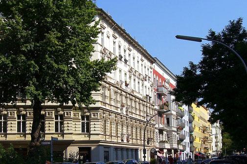 Belziger Straße im Akazienkiez - Berlin Schöneberg