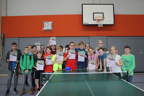 Die Gewinner der Goldbachschule.