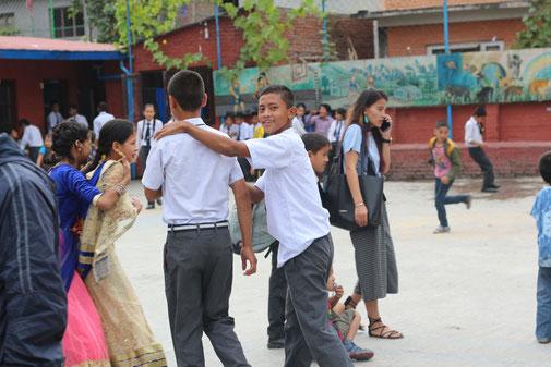 Nirmal in der Schule