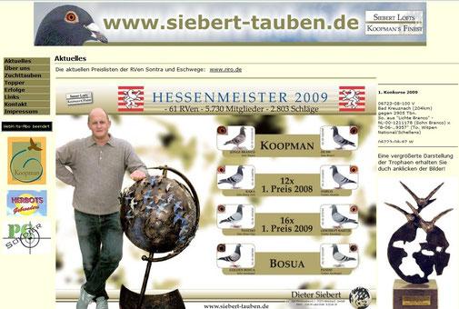 Homepage Dieter Siebert.de