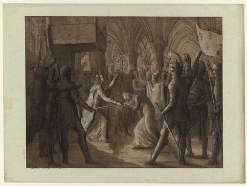 BODINIER Guillaume, Jeanne d'Arc armée par Charles VII