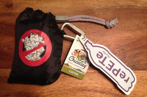 Gewinne eine von drei Einkaufstaschen von Re.PET. Wenn Du sie nicht brauchst, faltest Du sie einfach und klein zusammen -wie hier.