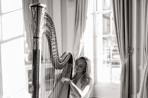 harfe Livemusik für Hochzeit