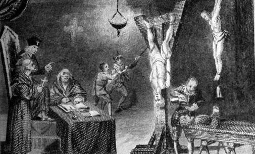 L'inquisition : Tortures sous la croix