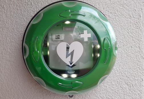 Defibrillatoren angeschaftt