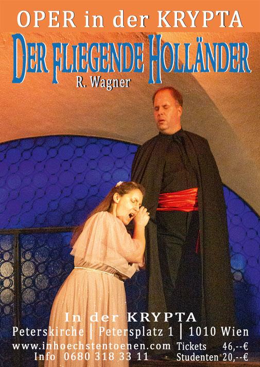 Der fliegende Holländer - Richard Wagner  in der KRYPTA