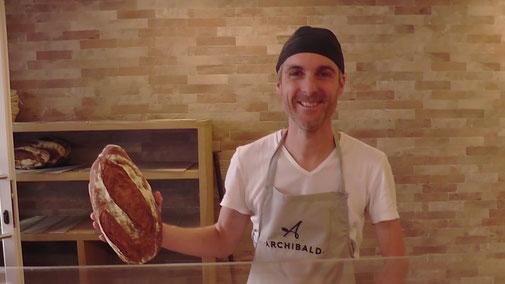 Leckeres Brot vom Bäcker
