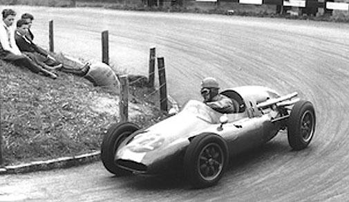 Harry Zweifel am Rennen in Kandersteg-Mitholz