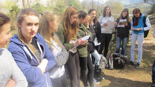 Schüler der Fachschulen für Land- und Hauswirtschaft Dietenheim