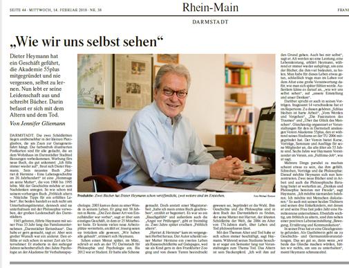 Frankfurter Allgemeine Dieter Heymann