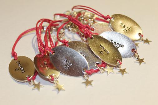 pulseras personalizadas para despedidas de soltera metal oval amigas diecisietecosas