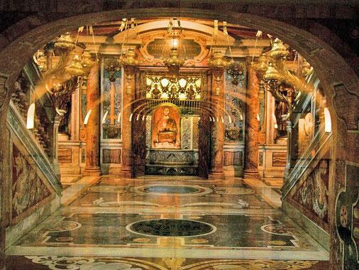 Petersdom - Petrusgrab
