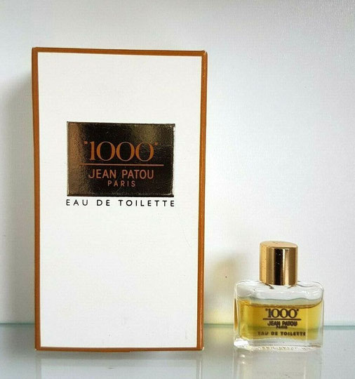 """1000"" DE JEAN PATOU - EAU DE TOILETTE : MINIATURE IDENTIQUE A CELLE DE LA PHOTO PRECEDENTE"