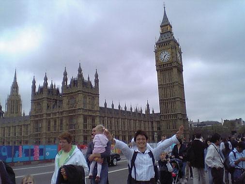 2005年。ロンドンで働いていた頃の柴垣。