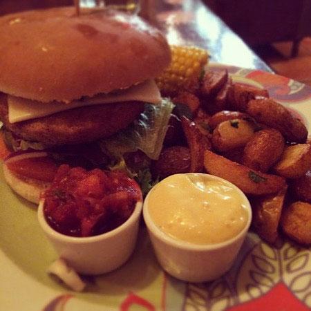 vegan burger the vegan word