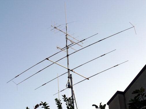 IZ8EOB ( Nuovo traliccio e antenne)