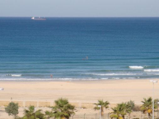 Magnifique vue sur la plage