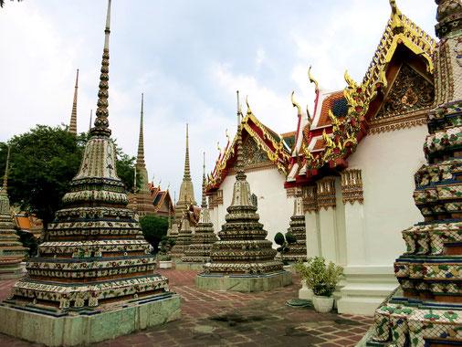 Tempelgelände des Wat Pho