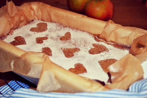Apfelmus Zimt Kuchen Mit Glutenfreier Decke With A Lot Of Fun A