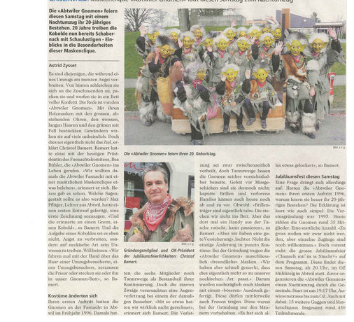 Bericht aus St.Galler Nachrichten vom 15. Januar 2015