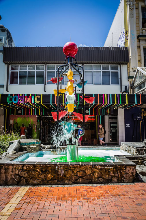 The bucket fountain