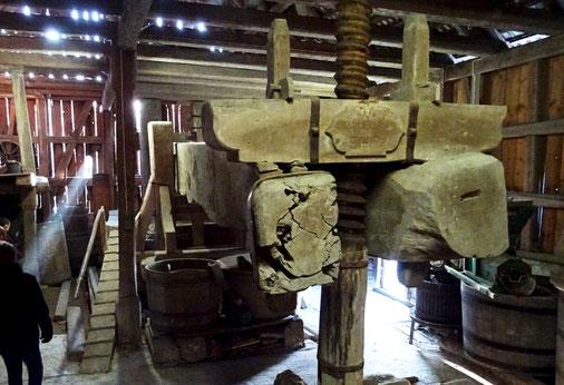 dieser Torggel dürfte etwas 500 Jahre alt sein