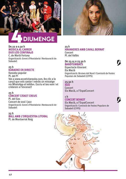 Programa de la Festa Major de Sabadell